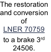 The restoration
